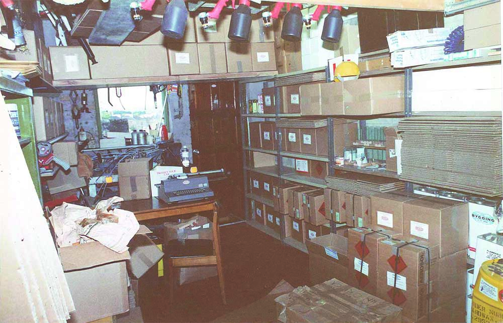 The First Supagard Stock Room