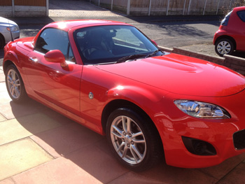 Mr Woodgers Mazda MX5