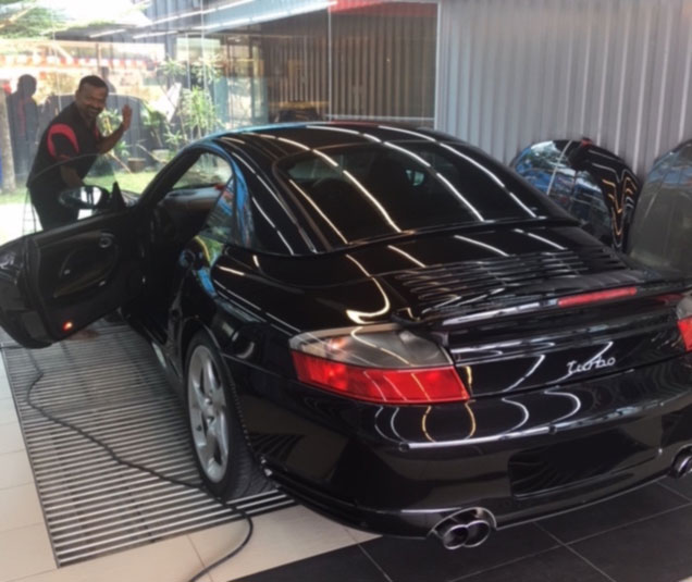 Treating a Porsche in the Philippines